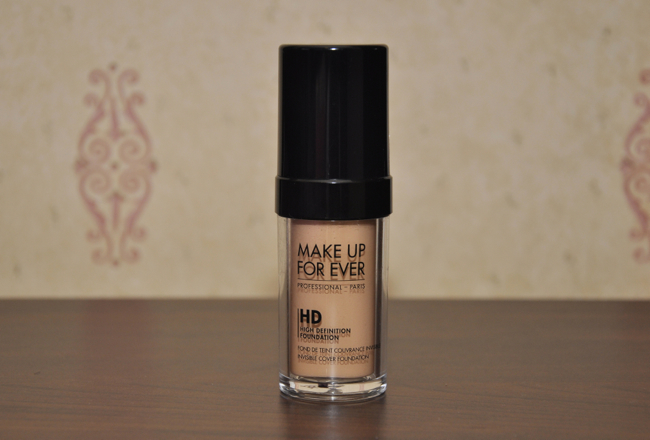 Foundation Files (1): Makeup Forever HD foundation