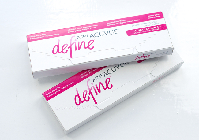1-Day Acuvue Define: Natural Shimmer