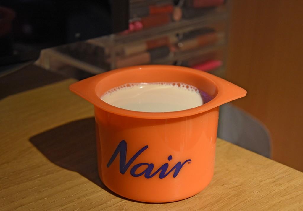 Nair Argan Oil Salon Divine Body Wax Bye Bye Pain Formula Just