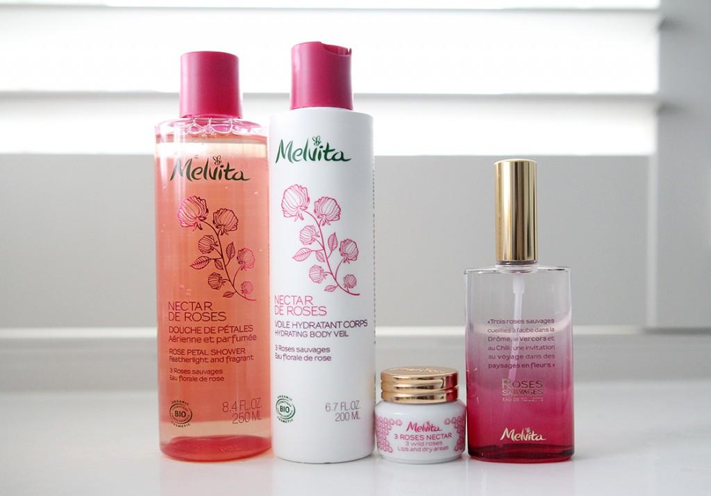 Review: Melvita's Nectar de Roses Collection