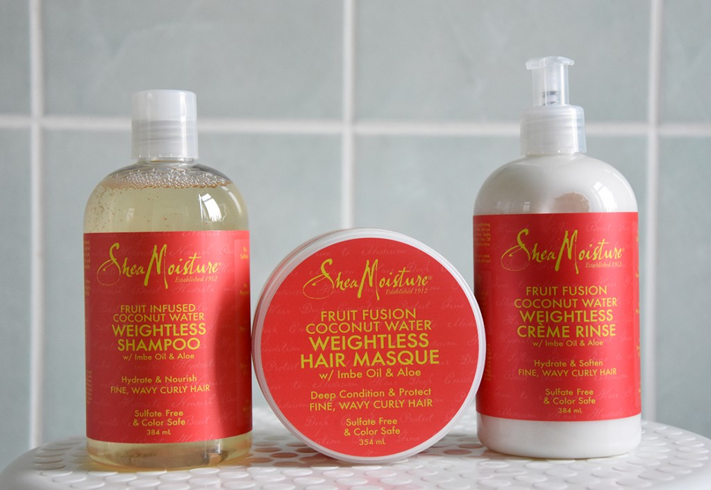 Review: Shea Moisture Fruit Fusion Shampoo, Conditioner and Masque