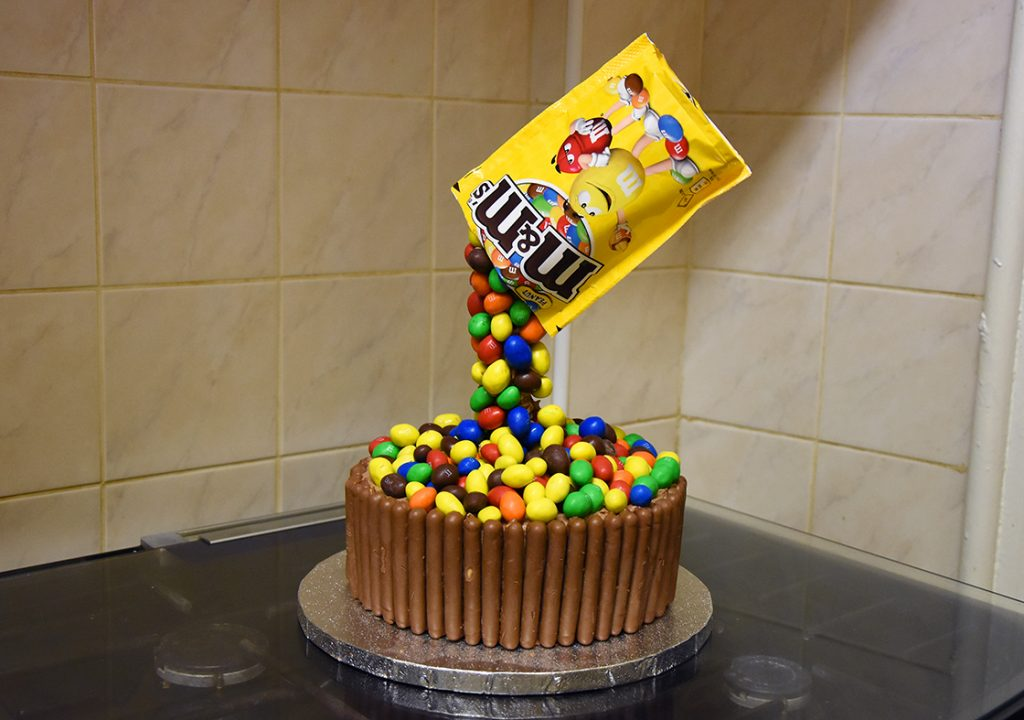 How To Make An Anti-Gravity Cake