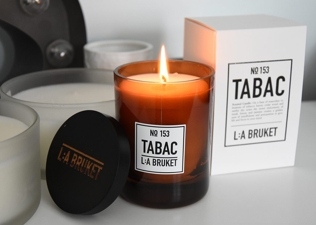 L:A Bruket: Tabac scented candle