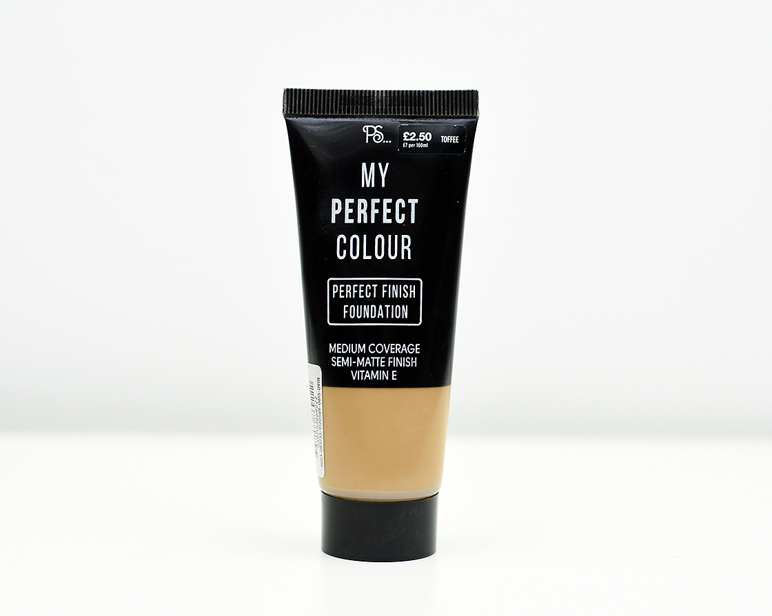 Foundation Files: PS… My Perfect Colour – Perfect Finish Foundation