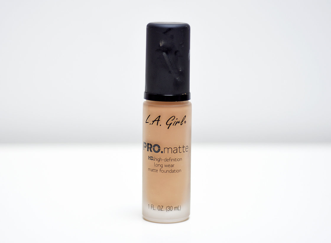 Foundation Files: L.A Girl PRO Matte Foundation